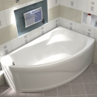 Акриловая ванна Bas Николь 170x104 R правосторонняя