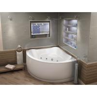 Акриловая ванна Bas Модена 150x150 в комплекте каркас