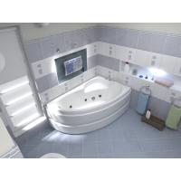 Акриловая ванна Bas Сагра 160x98 R в комплекте каркас