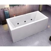 Акриловая ванна Bas Индика 170x80 в комплекте каркас