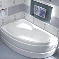 Акриловая ванна Bas Сагра 160x98 L в комплекте каркас