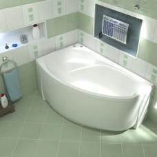 Акриловая ванна Bas Флорида 160x88 L левосторонняя