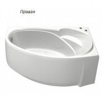 Акриловая ванна Bas Флорида 160x88 R в комплекте каркас