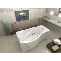 Акриловая ванна Bas Капри 170x80 L в комплекте каркас