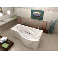 Акриловая ванна Bas Капри 170x80 R в комплекте каркас