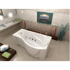 Акриловая ванна Bas Капри 170x80 R правосторонняя