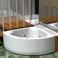 Акриловая ванна Акватек Юпитер 150x150 каркас, слив перелив