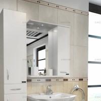 Шкаф зеркальный СанТа Прима-600 правый с подсветкой