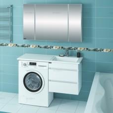 Умывальник над стиральной машиной Лидер 1000/482 правый,с кронштейнами