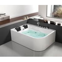Гидромассажная ванна Frank F152L правосторонняя 170*120