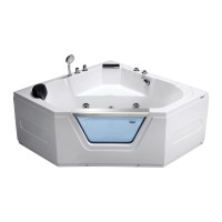 Гидромассажная ванна Frank F153 угловая 135*135