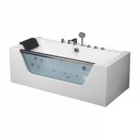 Гидромассажная ванна Frank F102 пристенная 170*80