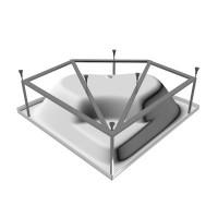 Рама для ванны Vayer Boomerang угловая 150*150