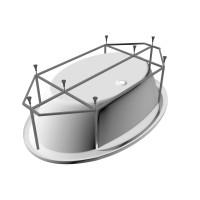 Рама для ванны Vayer Opal