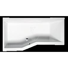 Акриловая ванна Alpen Versys 170x85 L цвет Euro white, левая (70111)