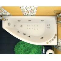 Акриловая ванна Triton Бэлла левая 140*75