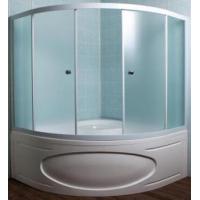 Шторка на ванну 1MarKa Afrodita/Ibiza/Palermo 150*150 профиль хром