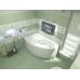 Акриловая ванна Bas Фэнтази 150x88 L левосторонняя