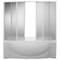 Шторка на ванну Bas Фиеста 4 plastic 195x145