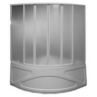 Шторка на ванну Bas Риола 6 plastic 135x145